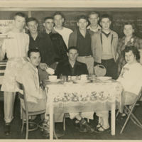 Wayland High School Boys Home Economics Class, 1952